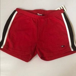 Tommy Hilfiger Tomsport Girl Short Red New M